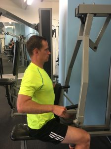 Good posture for the Seated Row